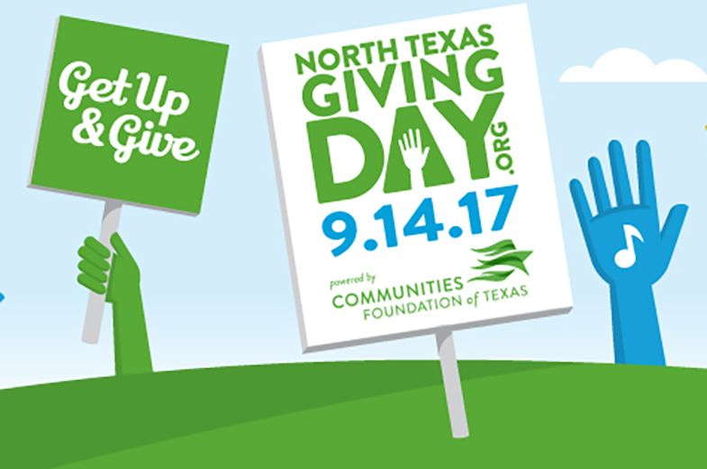 Banner image for Save the date for North Texas Giving Day on Thursday, September 14!